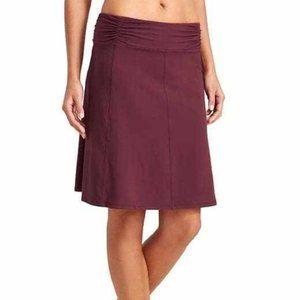 ATHLETA Solid Purple Bodega Skirt Womens Size M